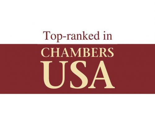Top Ranked in Chambers USA