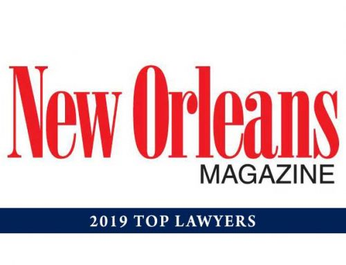 New Orleans Magazine's 2019 Top Lawyers List