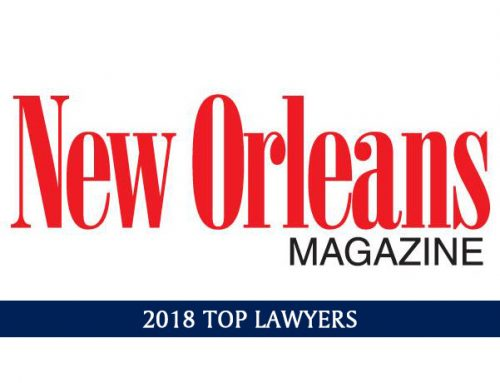 New Orleans Magazine's 2018 Top Lawyers List
