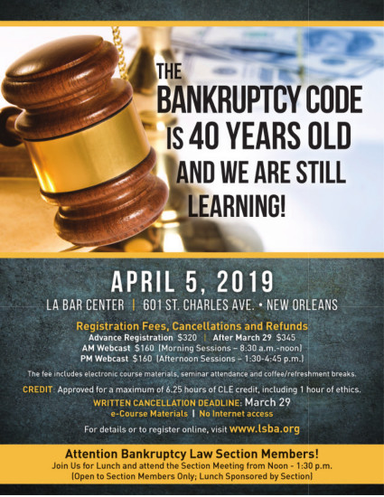 Cherie D. Nobles - The Bankruptcy Code